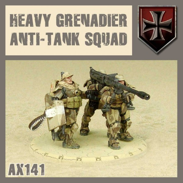 Axis: Heavy Grenadier Anti-Tank Squad
