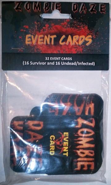 Zombie Daze Event Cards