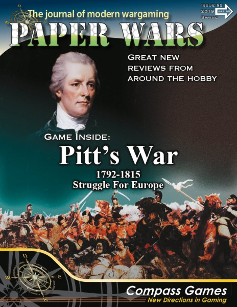 Paper Wars #92 - Pitt´s War 1792 - 1815 Struggle for Europe