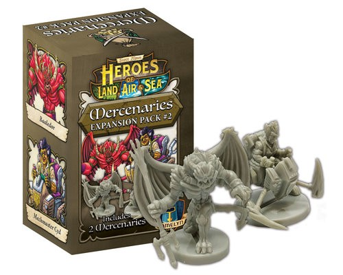 Heroes of Land, Air & Sea: Mercenary 2 Expansion