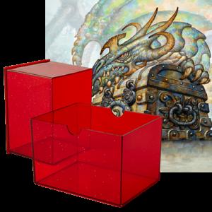 Dragon Shield: Gaming Box 100 (Ruby)