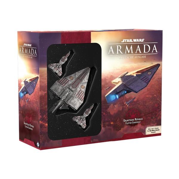 Star Wars Armada - Galaktische Republik Flotten-Starterset