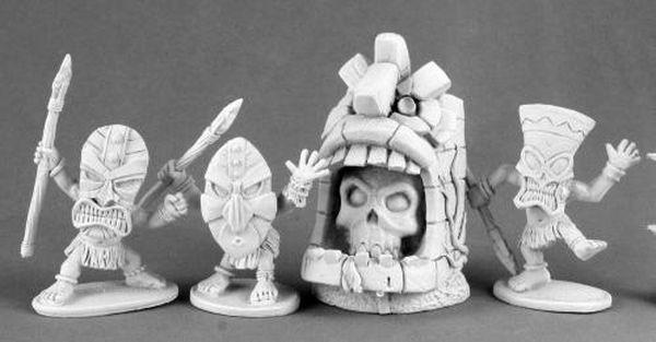 Evil Shrine & Pygmy Savages
