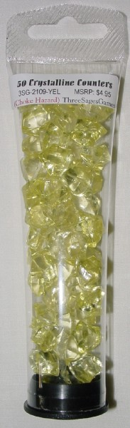 Crystalline Counters Yellow (50)