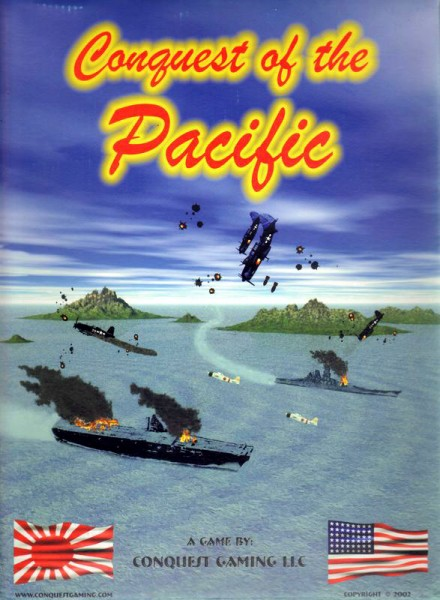 Conquest Games: A&A Conquest of the Pacific
