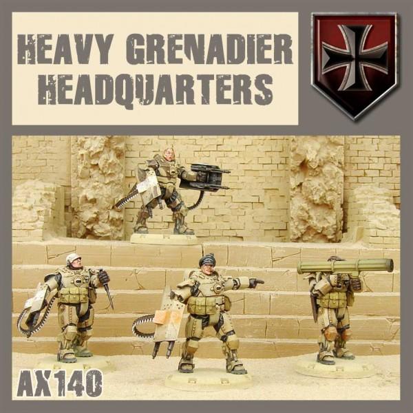 Axis: Heavy Grenadier HQ