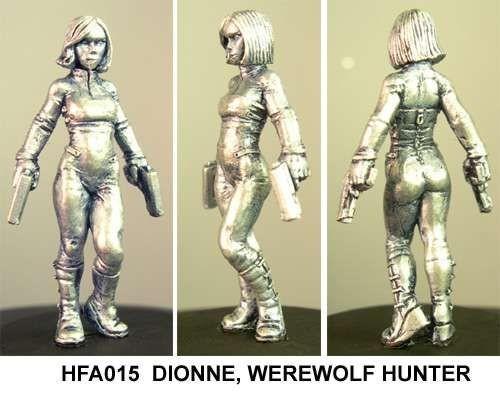 Dionne, werewolf hunter