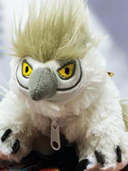 Dice Pouch: D&D Plush - Snowy Owlbear