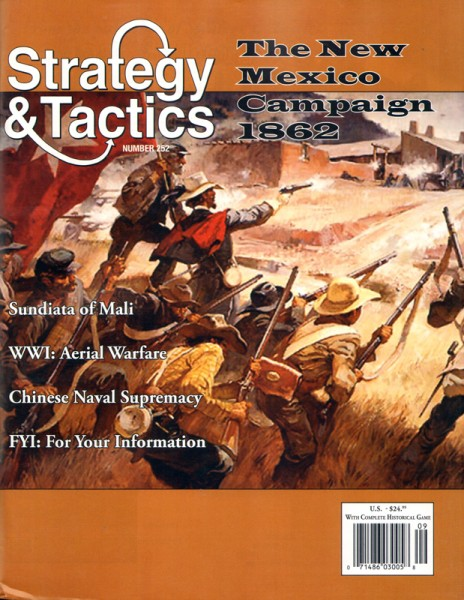 Strategy & Tactics# 252 - New Mexico 1862