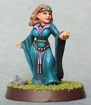 Anghela, female dwarf