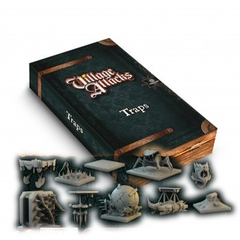 Village Attacks - 3D Traps