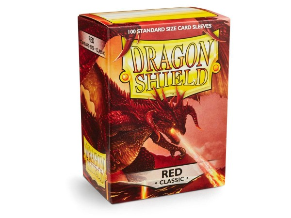 Dragon Shield: Red (100) Sleeves