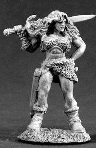 Nadia of the Blade, Female Barbarian