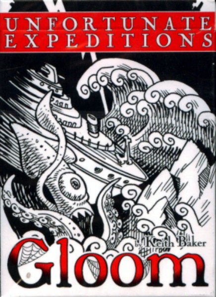 Gloom Expansion - Unfortunate Expedition