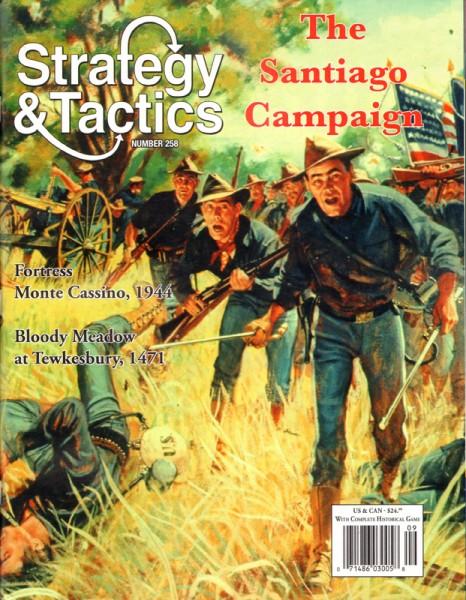 Strategy & Tactics# 258 - The Santiago Campaign
