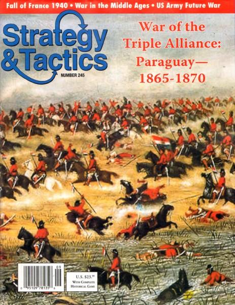 Strategy & Tactics# 245 - Paraguay 1865-70