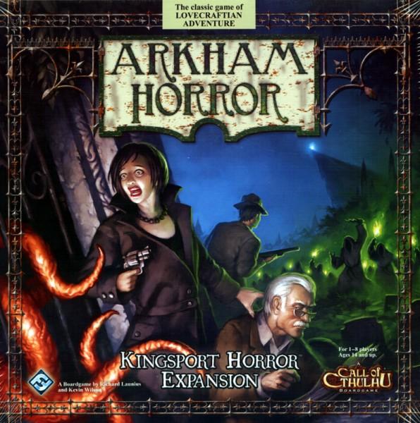 Arkham Horror - Kingsport Expansion