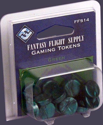 Grüne FFG-Spielsteine Set (20)