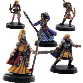 Elfsera 4: High Elves (bemalt)