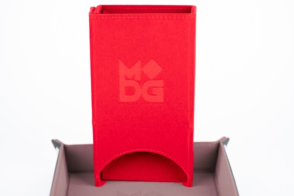 Fold-Up Dice Tower - Red