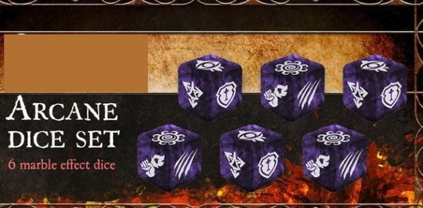 Village Attacks - Arcane Dice (6)
