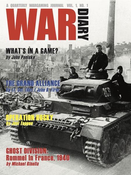 War Diary Magazine #1 (Vol. 1, No. 1)