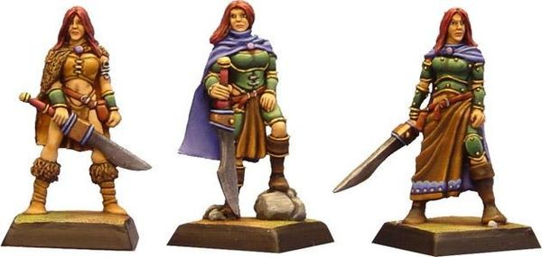 Die Kriegerin, 3-Stage-Character