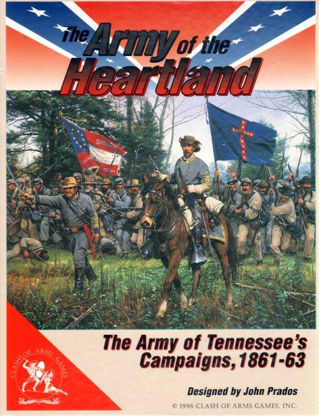 The Army of the Heartland - The Army of Tennessee´s Campaigns, 1861-63