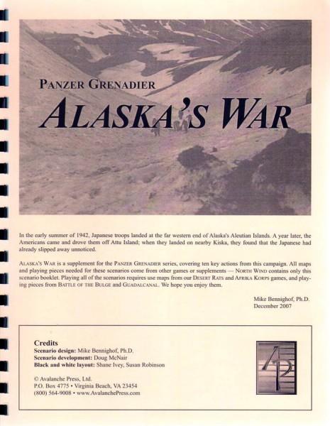 AP: Panzer Grenadier: Alaska's War