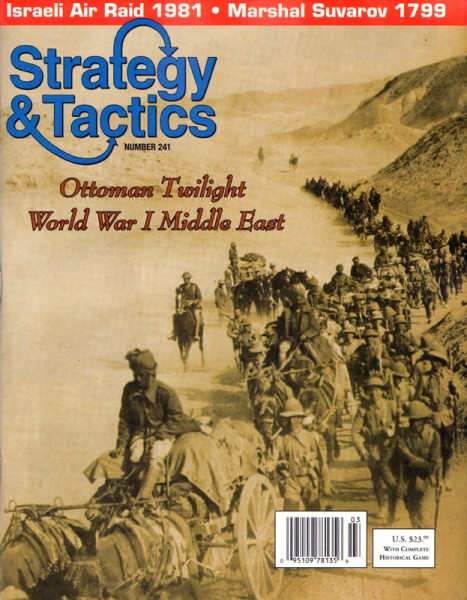 Strategy & Tactics# 241 - WWI Middle East