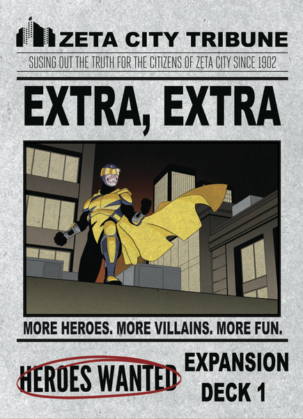Heroes Wanted - Extra Extra Expansion