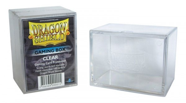 Dragon Shield: Gaming Box 100 (transparent)